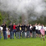 21 Gun Salute Memorial Day at Walnut Grove